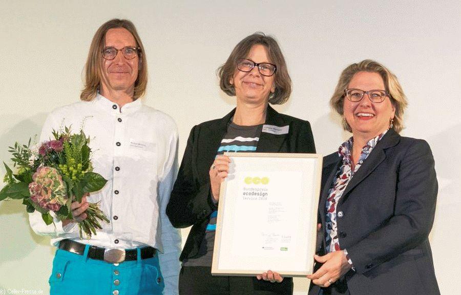 Refill Deutschland gewinnt Bundespreis Ecodesign