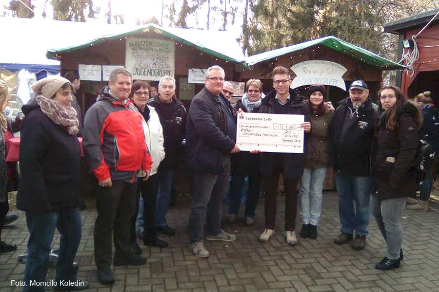 Sparkassenstiftung unterstützt das Schützencorps Neuenhäusen