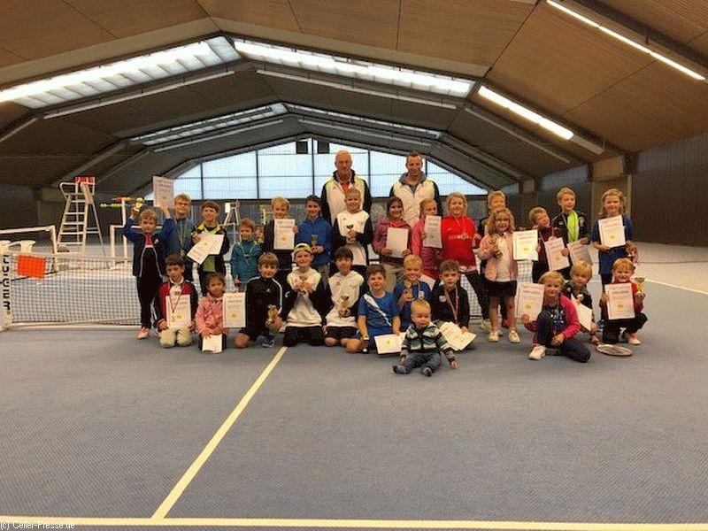 Tennis-Regionsmeisterschaften Südheide im Bereich Jüngste
