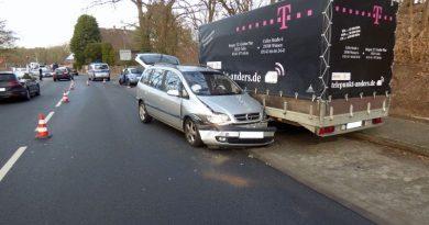 Unfall im Gegenverkehr