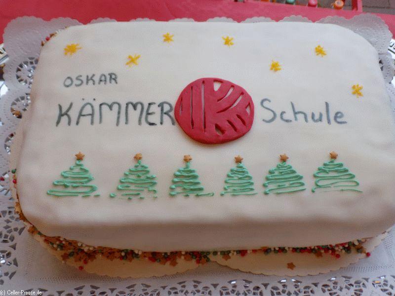 Weihnachtsbasar bei der Oskar-Kämmer-Schule