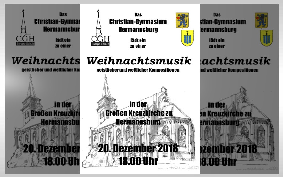 Weihnachtskonzert des Christian-Gymnasiums