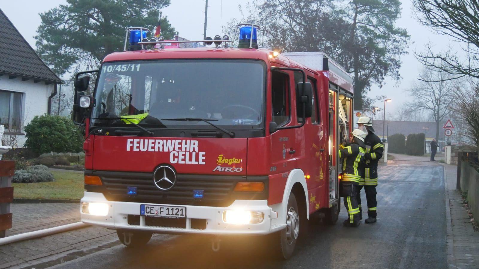 Wohnungsbrand in Altencelle