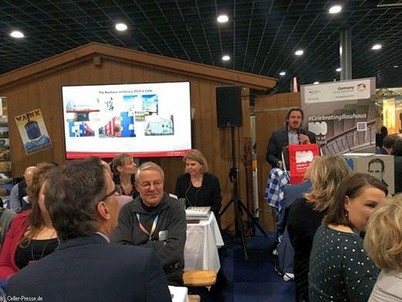 """""""Barock trifft Bauhaus"""" – Celle Tourismus und Marketing GmbH betreibt aktives Auslandsmarketing auf der Vakantiebeurs 2019 in Utrecht"""
