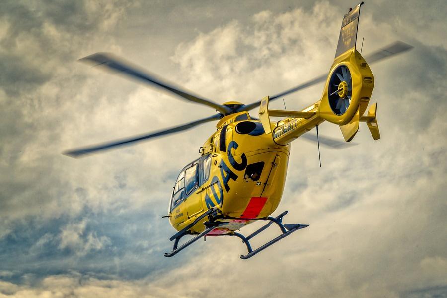 """""""Christoph 19"""" fliegt 40.000. Rettungseinsatz – Gemeinnützige ADAC Luftrettung seit 1983 in Uelzen stationiert"""