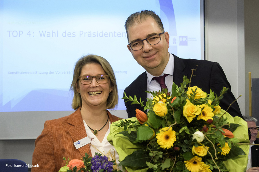 Andreas Kirschenmann ist neuer IHK-Präsident – Vollversammlung wählt auch neues Präsidium