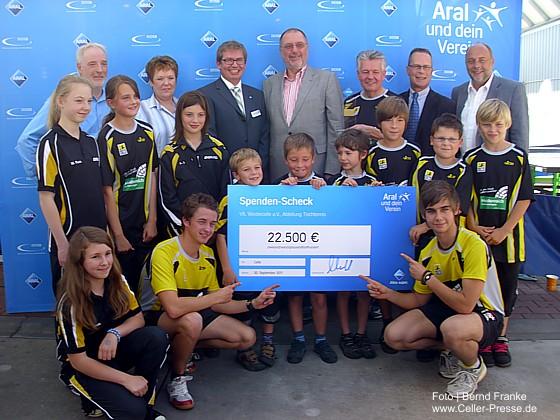 Vereinswettbewerb Aral und dein Verein: VfL Westercelle e.V., Abteilung Tischtennis, gewinnt den bundesweiten Wettbewerb
