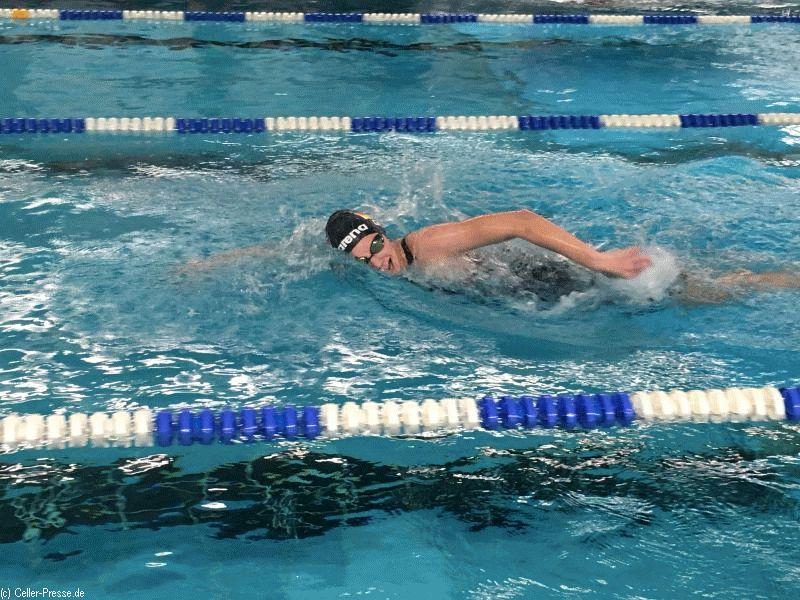 Benita Grohmann schnellste Schwimmerin im Bezirk über 400mLagen und 800m Freistil