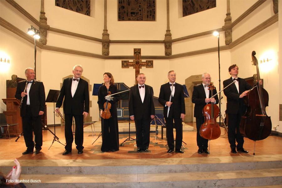 Celler Freundeskreis bei Ludwig Güttler und dem Leipziger Bach Collegium in Hannover