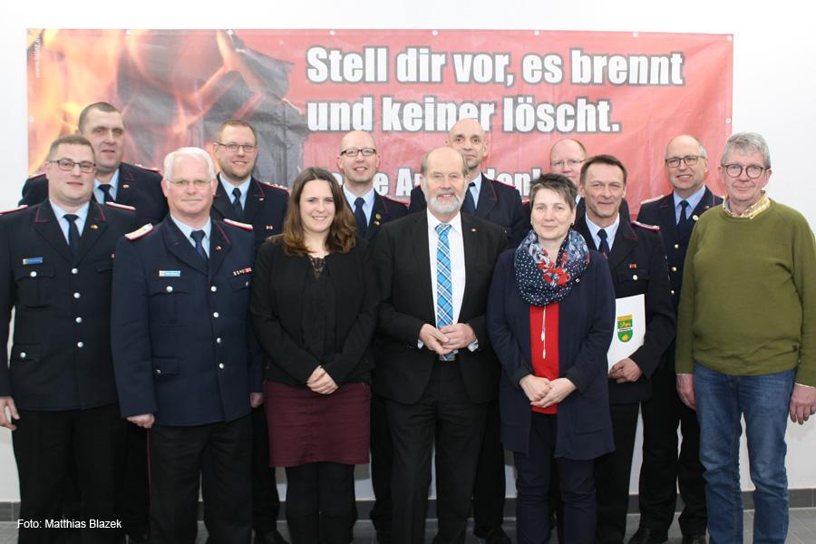 Christoph Mohwinkel zum Ersten Hauptlöschmeister befördert