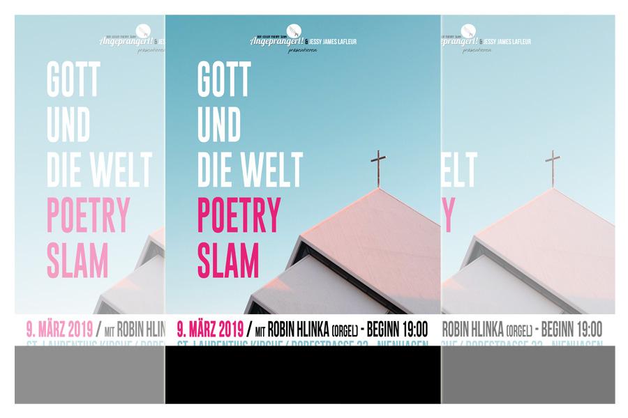 Gott und die Welt – Poetry Slam in Nienhagen