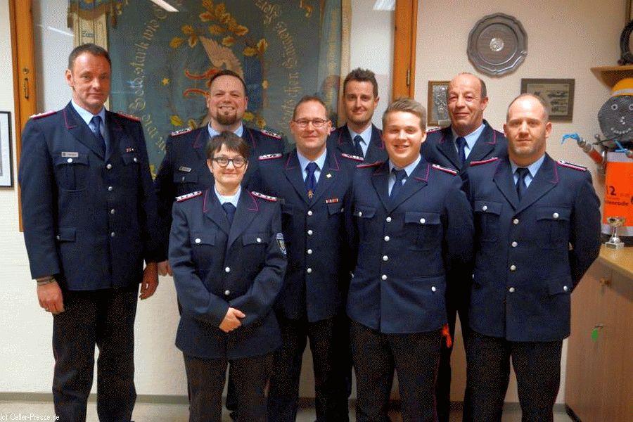 Jahreshauptversammlung der Feuerwehr Wiedenrode