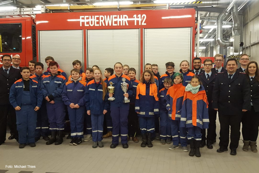 Jahreshauptversammlung der Jugendfeuerwehr Lachendorf