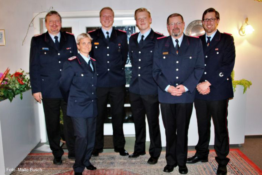 Jahreshauptversammlung der Ortsfeuerwehr Gockenholz