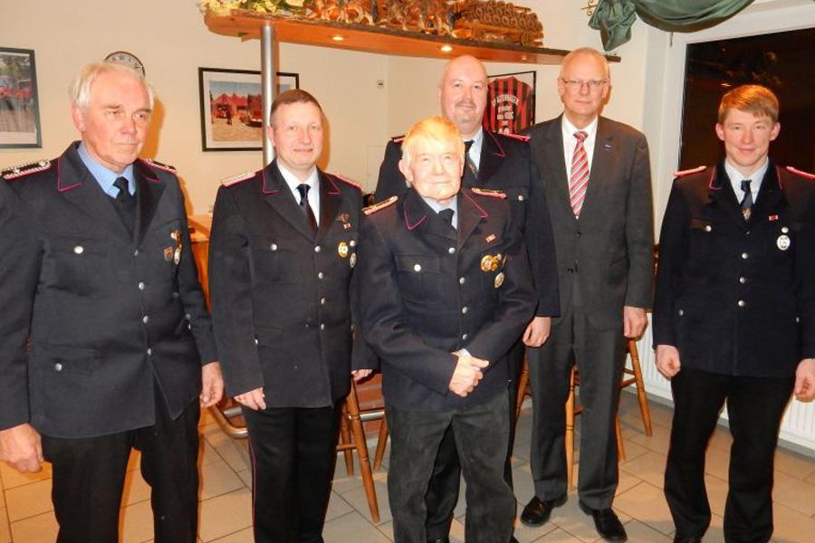 Jahreshauptversammlung der Ortsfeuerwehr Helmerkamp