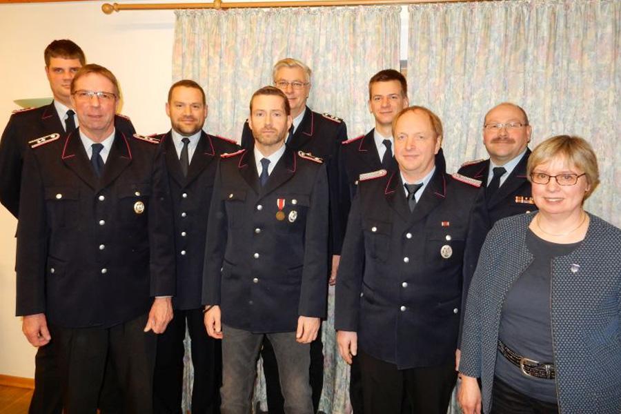 Jahreshauptversammlung der Ortsfeuerwehr Metzingen