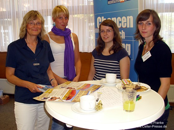 Schülerinnen trafen Ingenieurinnen für die Karriere mit MINT
