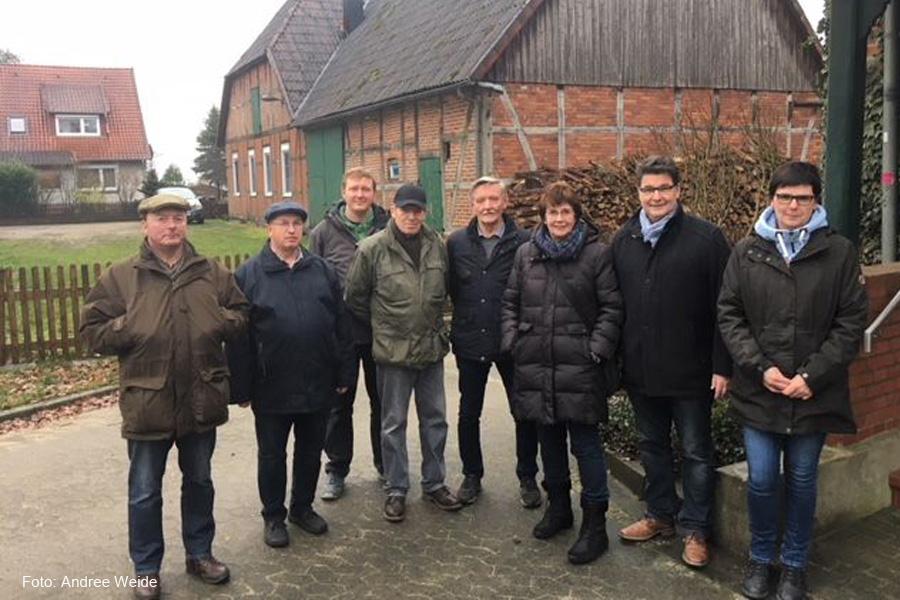 """""""13 Ortschaften. Eine Zukunft."""" – Ortsrundgang in Wardböhmen"""