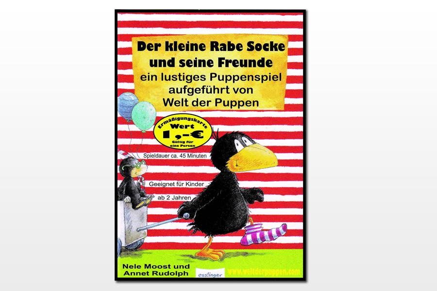 Puppenspiel in Celle: Der kleine Rabe Socke