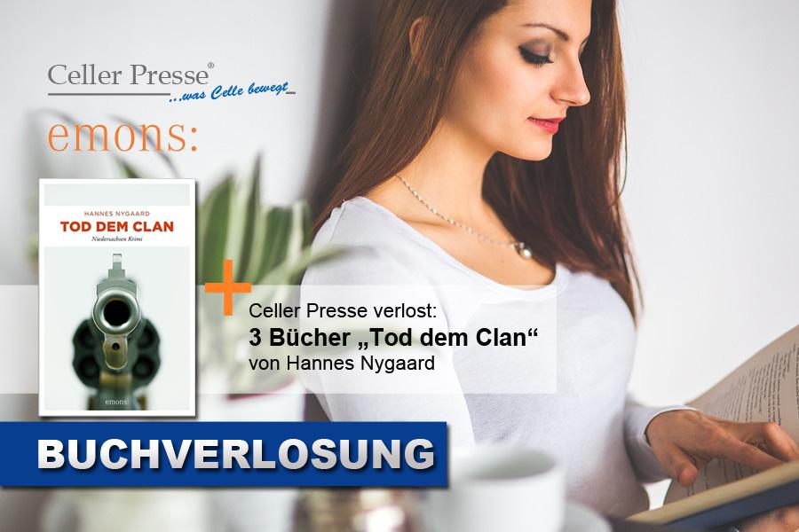 """Buchverlosung """"Tod dem Clan"""""""