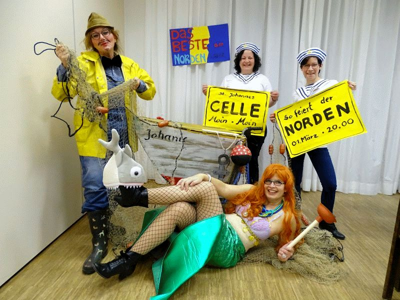 Das Beste Am Norden Auch Wir Konnen Karneval Celler Presse