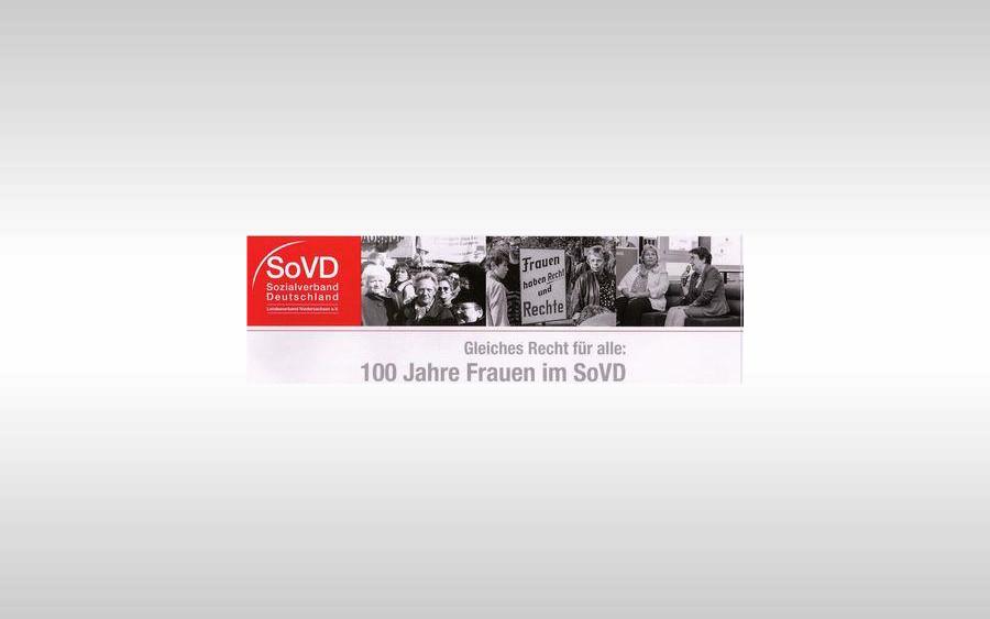 """100 Frauen feiern am Internationalen Frauentag – """"100 Jahre Frauen im SoVD und 100 Jahre Frauenwahlrecht"""""""