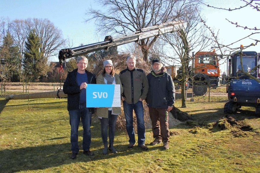 Becklinger und SVO richten neues Storchennest ein
