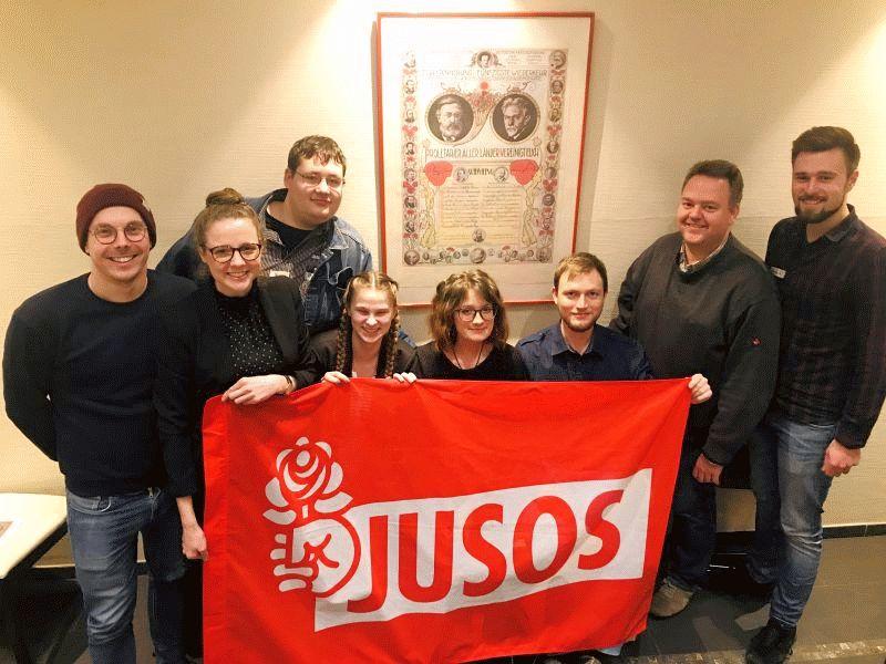 Celler Jusos stimmen sich bei ihrer Unterbezirkskonferenz auf das Wahljahr 2019 ein