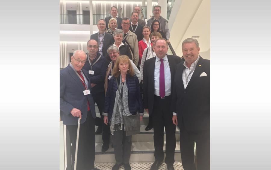 DEHOGA KV Celle zu Gast bei Thomas Adasch (CDU) – Besuch im Niedersächsischen Landtag