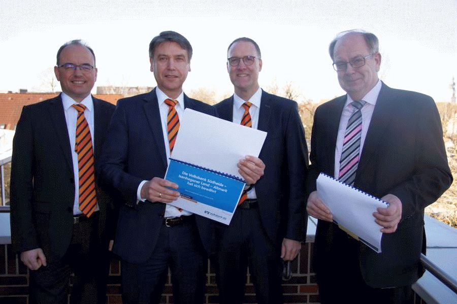 Die Volksbank Südheide – Isenhagener Land – Altmark hat sich bewährt –  Volksbank zahlt 2,7 Milionen EURO Gewerbesteuer