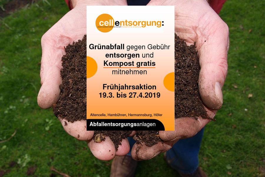 "Frühlingszeit-Kompostzeit – Frühjahrsaktion ""Gratiskompost"" startet"