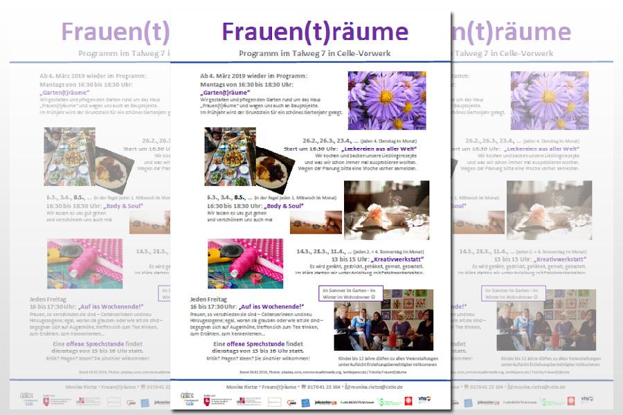 """Frisch ans Werk: Das Projekt """"Frauen(t)räume – Räume für Frauen"""" legt aktuelles Programm vor"""