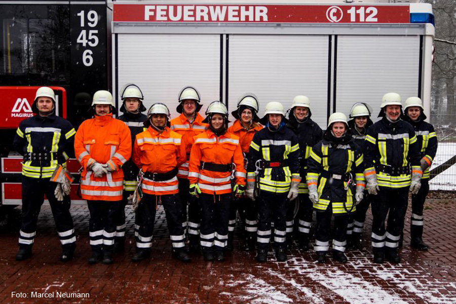 Gemeinsame Truppmann-Ausbildung der Samtgemeinden Flotwedel und Lachendorf