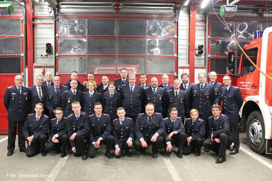 Jahreshauptversammlung der Freiwilligen Feuerwehr Hambühren – Alexander Weber neuer Ortsbrandmeister
