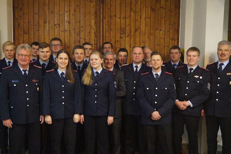 Jahreshauptversammlung der Freiwilligen Feuerwehr Offen 2019 – Neue Kinderfeuerwehr in Planung