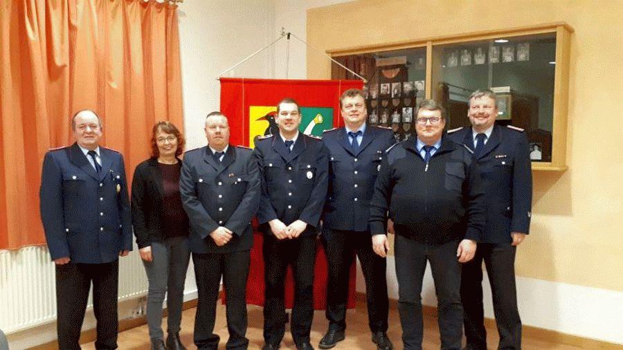 Jahreshauptversammlung der Ortsfeuerwehr Spechtshorn