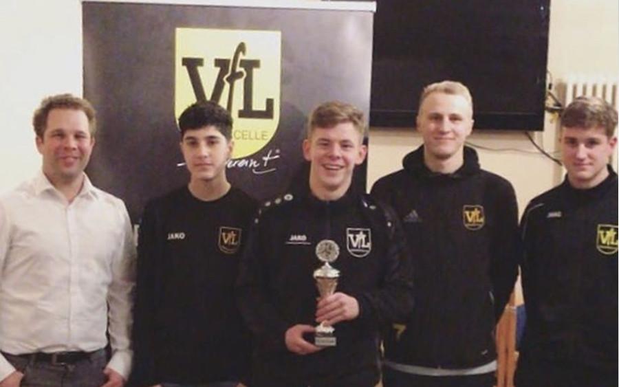 Jonas Haeber ist 1. VfL-Fifa-Champion