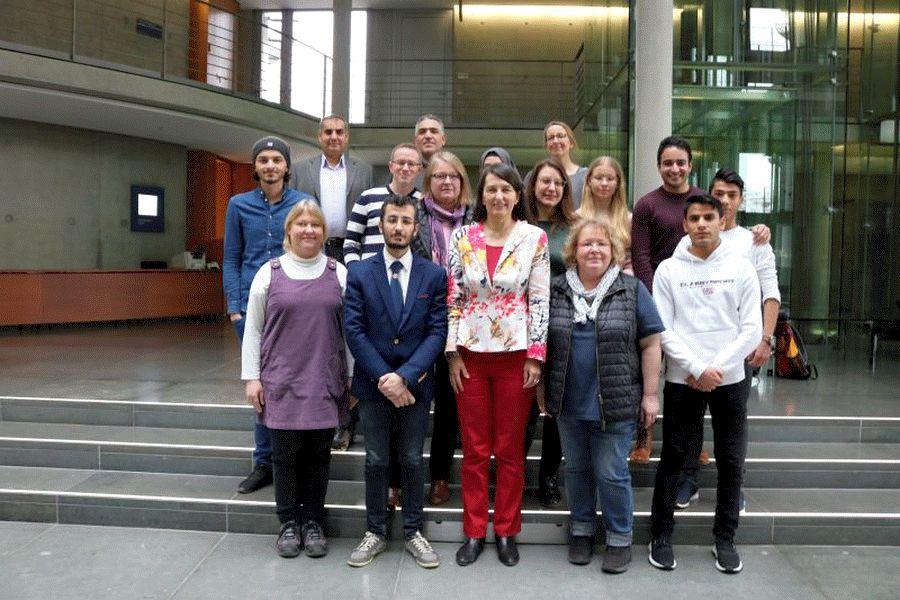 KESS- Besuch im Deutschen Bundestag