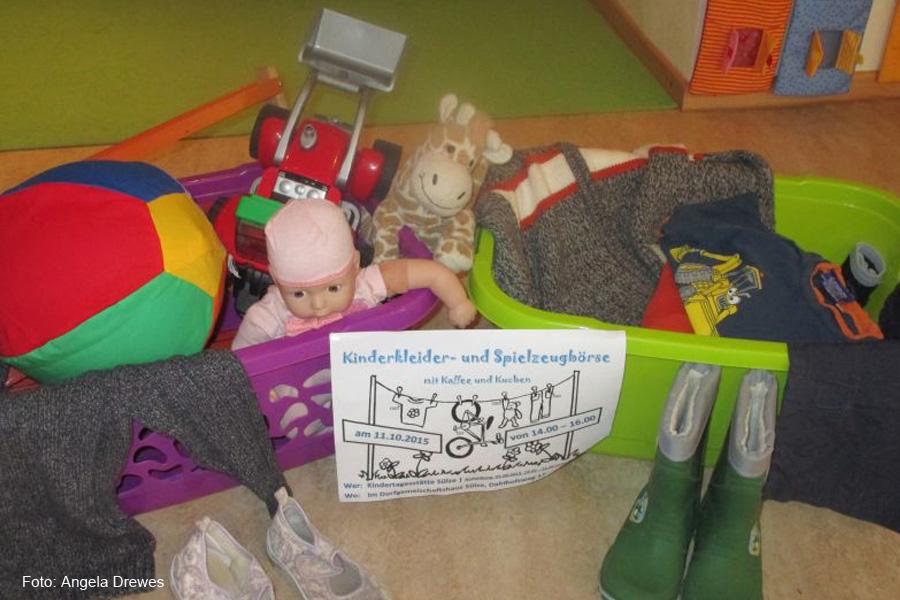 Kinderkleider- und Spielzeugbörse in Sülze