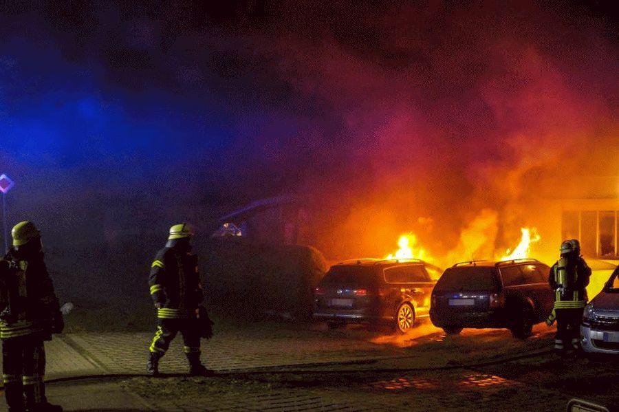 Nächtlicher Einsatz für die Feuerwehr Bröckel *** aktualisiert