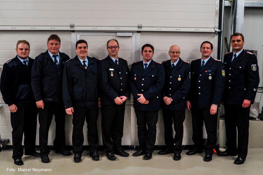 Neues Kommando bei der Feuerwehr Sandlingen – Timo Oberste-Lehn zum Ortsbrandmeister gewählt