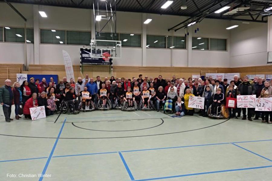 SoVD-Aktionstag 2019 mit Hannover United und der SoVD-Kreisverband Celle war dabei