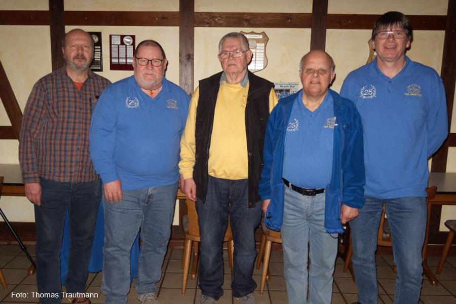 Veränderung im Vorstand vom Skatclub 'Die Kiebitze'