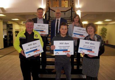 Volksbank Celle unterstützt gemeinnützige Initiativen mit 5.500 Euro