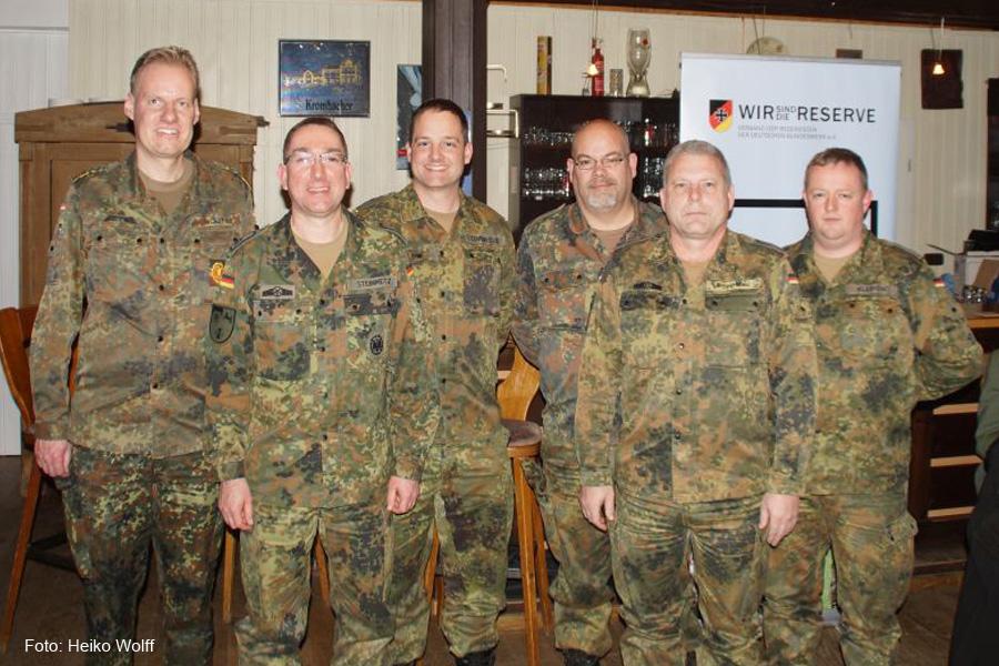 Wechsel an der Spitze der örtlichen Reservisten – Emotionale Verabschiedung von Stabsunteroffizier d.R. Hans-Georg Blonn