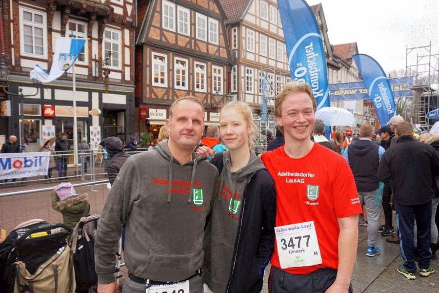 Adelheidsdorfer Lauf-AG ist erfolgreich beim 37. Celler Wasa-Lauf
