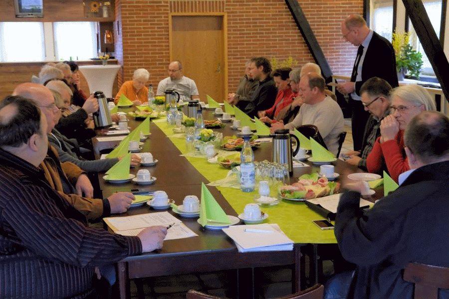 Bezirksvorstand im Amt bestätigt – Mitgliederversammlung Bezirksverband der Kleingärtner Celle e.V. 2019
