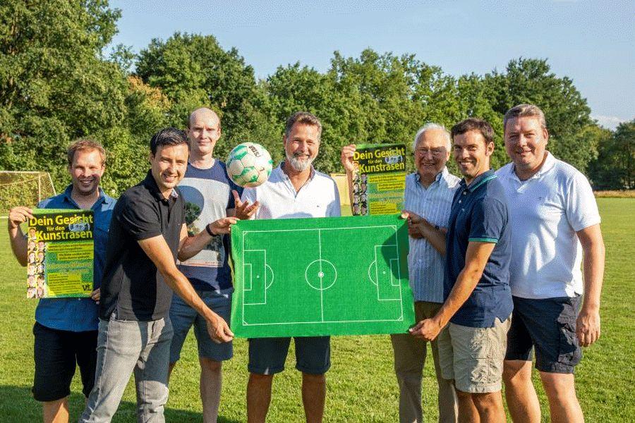 Celles erster Kunstrasenplatz: Alle Förderer haben zugesagt