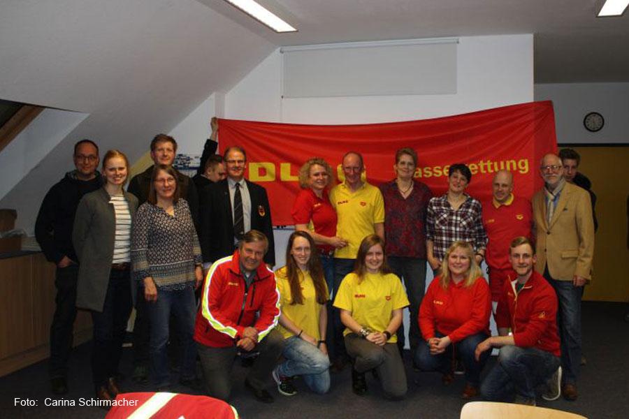 DLRG Jahreshauptversammlung mit Rückblick und Wahlen des Vorstands