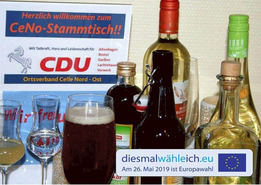 Gedankenaustausch und Kontaktpflege: CDU-Stammtisch in Celles Nordosten